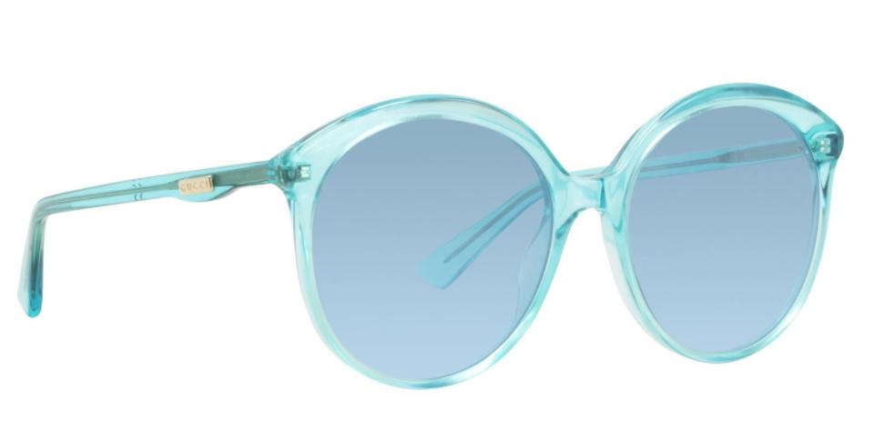 Blue framed Sunglasses