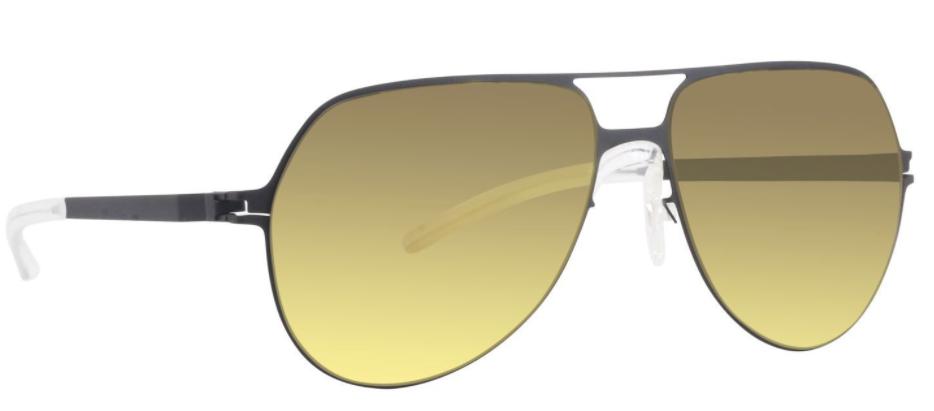 MYKITA gold sunglasses