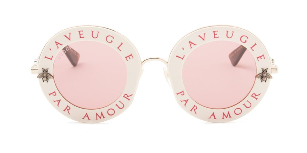 GUCCI GG0113S GOLD - PINK