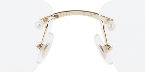 authentic Cartier glasses