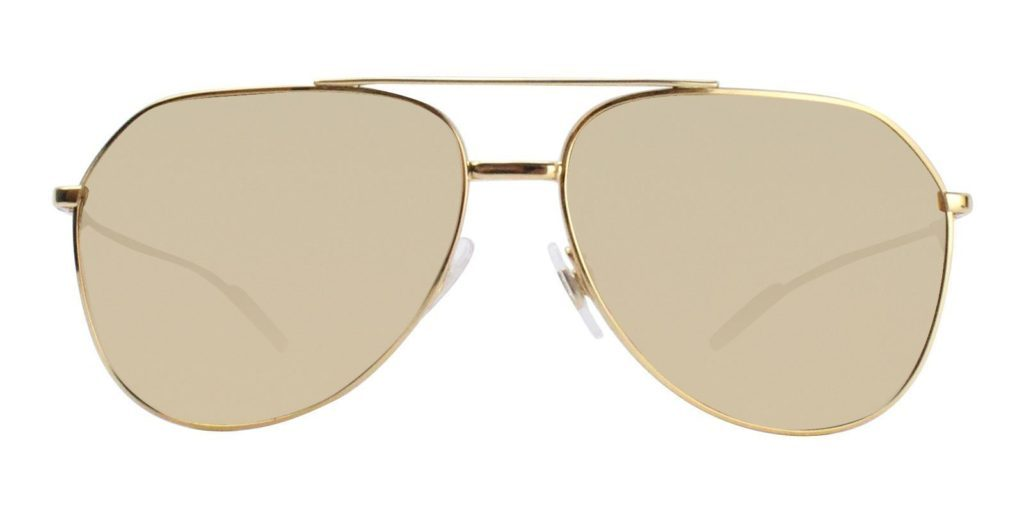 Dolce and Gabbana gold sunglasses