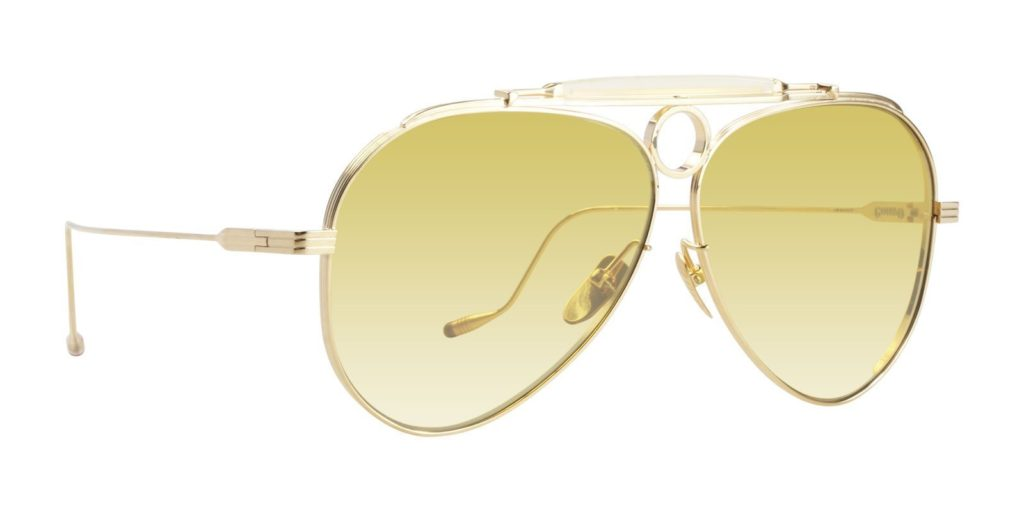 best jacques marie mage gonzo aviator sunglasses