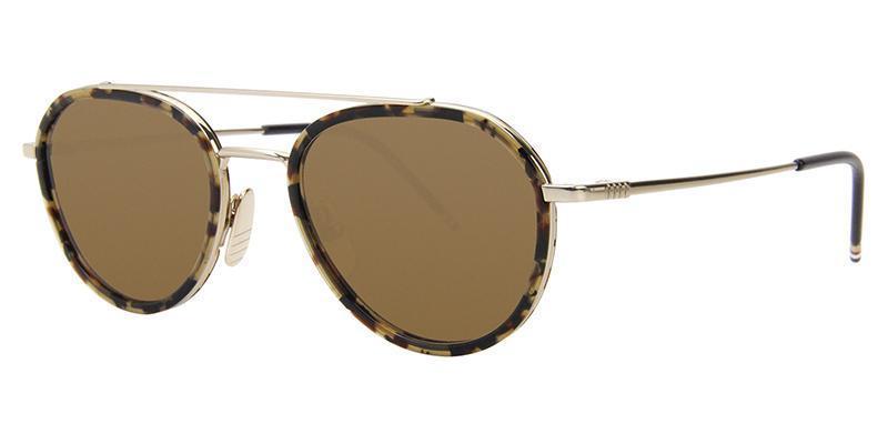 7b131c0d4b96 thom-browne-sunglasses-thom-browne-tb-801-h-gold-tortoise-brown ...