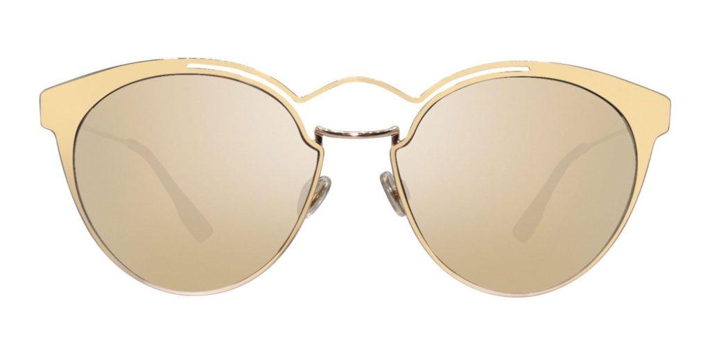 dior sunglasses gold