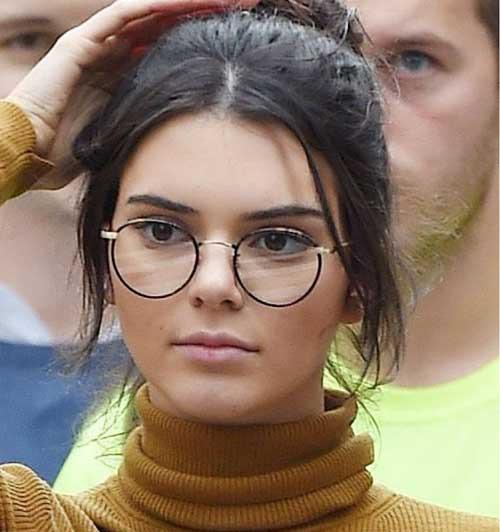 round frame glasses trend