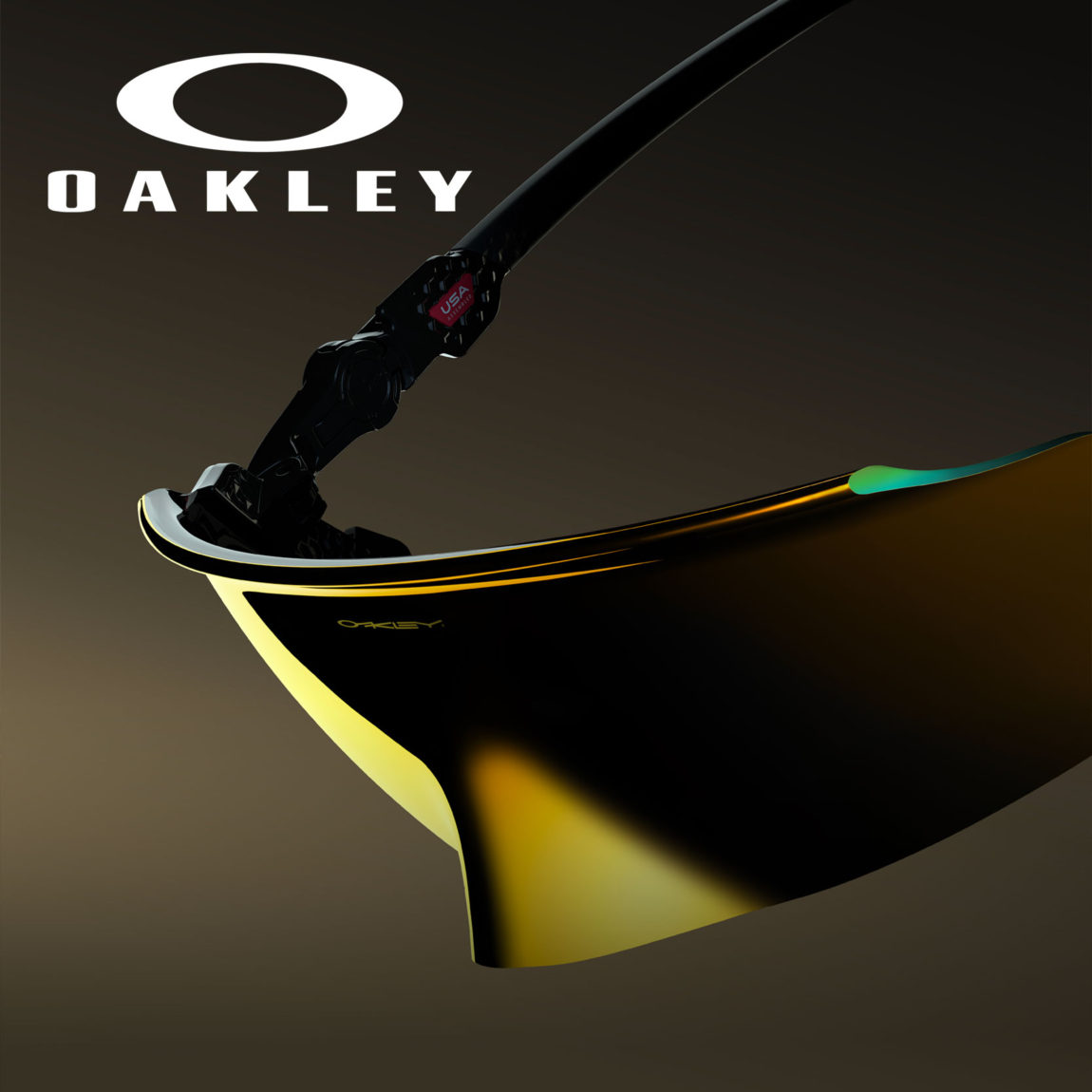 Gold Oakley Kato Prizm 24K